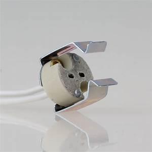 Fassung Gu5 3 : 12 volt niedervolt halogen fassung gu5 3 mit halterung f r refle ~ Watch28wear.com Haus und Dekorationen
