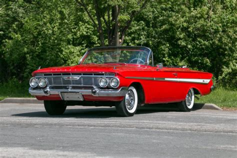 1961 Chevrolet Impala Convertible 348 V8 Rare Factory Air