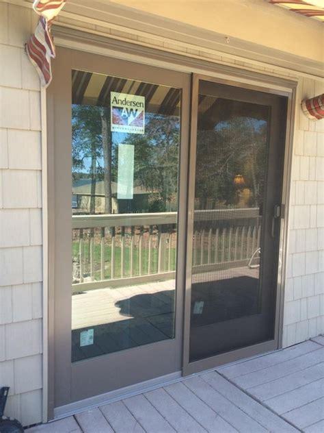 andersen 400 series patio door opening andersen 400 series frenchwood gliding patio door