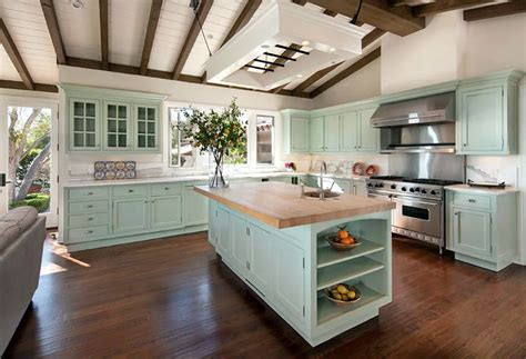 mint green kitchen cabinets best kitchen paint colors ultimate design guide 7524