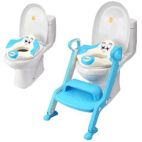 Frog Potty Chair With Step by Baby Toddler Toilet Potty Seat 2 Step Ladder