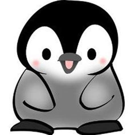 Cute Cartoon Baby Penguin Drawings