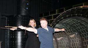Wand Week Learning To Cast A Spell On The Warner Bros