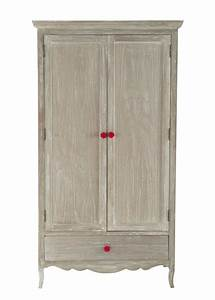 Kleiderschrank Aus Holz : kleiderschrank aus holz b 105 cm angelique maisons du monde ~ A.2002-acura-tl-radio.info Haus und Dekorationen