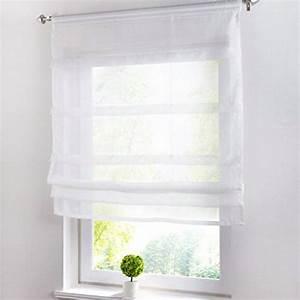 Raffrollo Weiß Transparent : wei transparente gardinen vorh nge und weitere ~ Lateststills.com Haus und Dekorationen