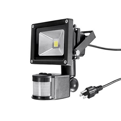 warmoon motion sensor led flood light 10w 30w