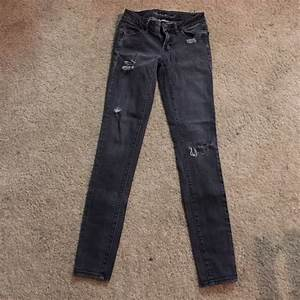 64% off American Eagle Outfitters Pants - Black Skinny ...