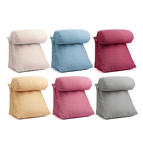 Lumbar Pillows For Sofa by Adjustable Sofa Back Wedge Cushion Lumbar Support Pillow
