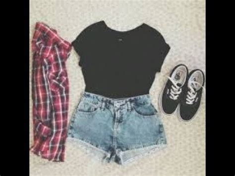 trendy summer outfit ideas  teenage girl youtube