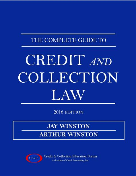 Complete Guide To Credit And Collection Law » Credit
