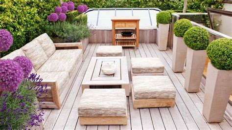 wonderful outdoor garden furniture ideas  wood home