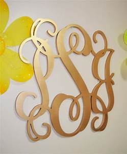 24 inch painted wooden monogram letters wood monogram With monogram guest book letter