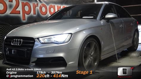 Rm Performance Reprogrammation Moteur Auto  Audi A3 8v