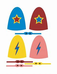 zakka life new superhero lollipop templates With superhero lollipop cape template