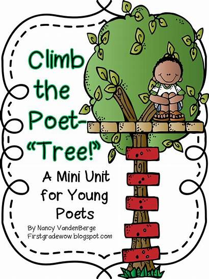 Grade Poetry Wow Happy Month Clipart Unit