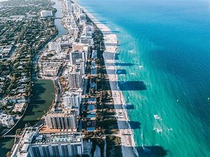Miami Drone Beach Different Perspective Photographer
