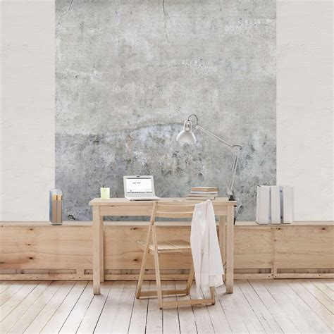 Wandgestaltung Tapete Wohnzimmer by Tapete Betonoptik Shabby Betonoptik Tapete Vliestapete