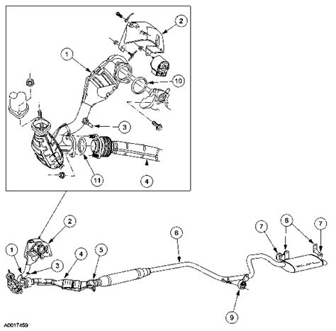 Ford Windstar Engine Diagram Exhaust