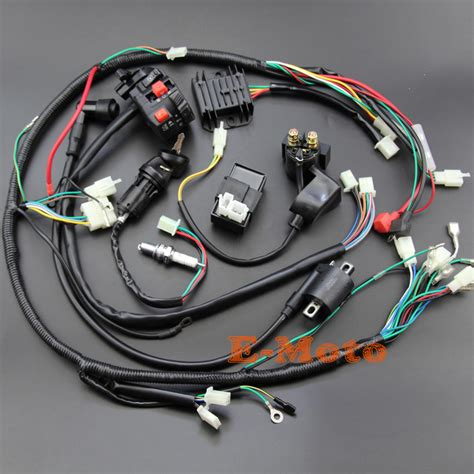 Gy6 200cc Atv Wiring by Wiring Harness Loom Ignition Coil Cdi D8ea For 150cc