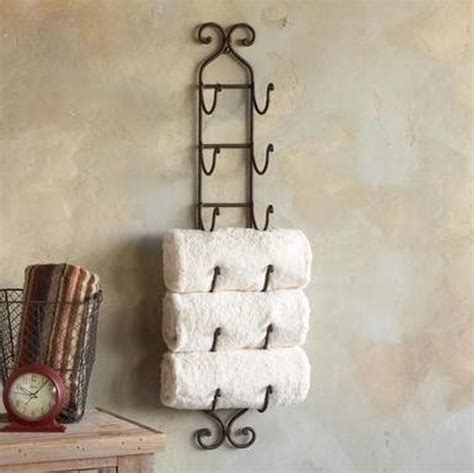 wine rack towel holder easy pinteresting diy home decorating ideas