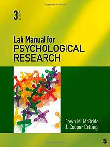 Lab Manual For Psychological Research  U2013 Here Are The Best