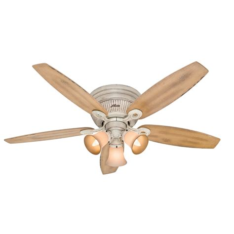 low profile ceiling fan light kit shop wellesley low profile 52 in burnished creme