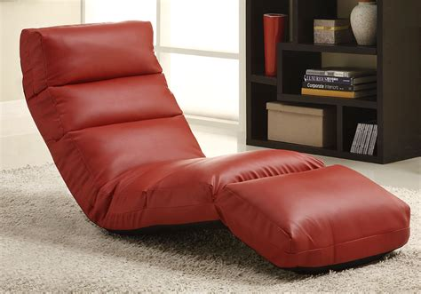 Ikea Sofa Reviews by Homelegance Gamer Floor Lounger Chair Red Leatherette