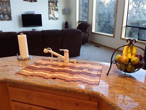 Custom Cutting Board / Sink Cover by Glessboards