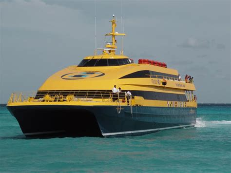 Catamaran Ultramar Cancun by Ferry Ultramar Playa Del Carmen Quintana Roo