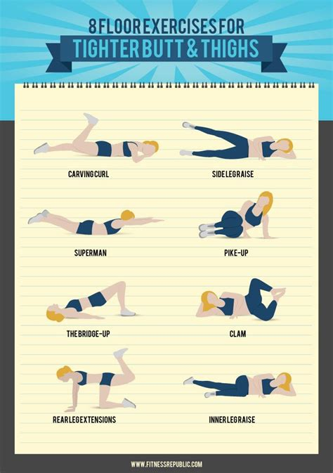 Bedroom Floor Exercises 8 floor exercises for a tight and toned thighs