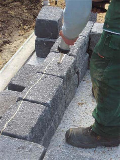 steine kleben außenbereich trockenmauersteine finden diephaus de