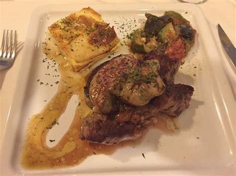Restaurant Foie Gras Bordeaux by Beef Rossini 8 Oz Filet With Foie Gras Le Bordeaux