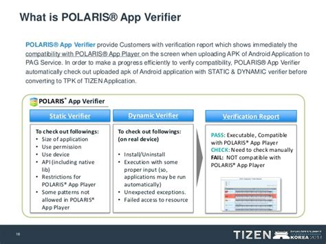publishing to tizen using the automated conversion repackaging of exi