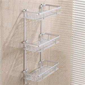 Bathroom Shelves Space Alumimum 1/2/3 Tier Home Kitchen ...