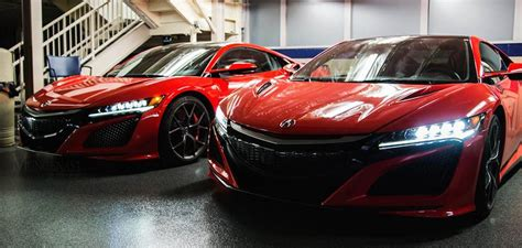 2016 acura nsx seen during acuransxontour