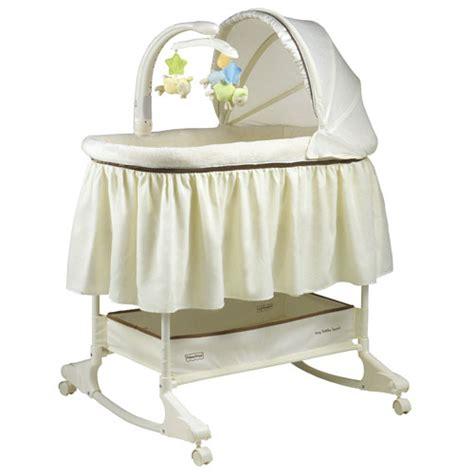 fisher price crib rocking bassinet