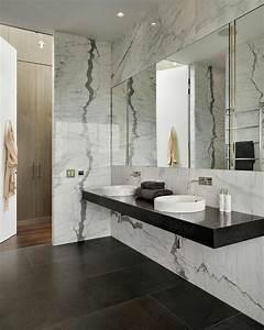 les 25 meilleures idees de la categorie salles de bains en With salle de bain design avec vasque marbre gris