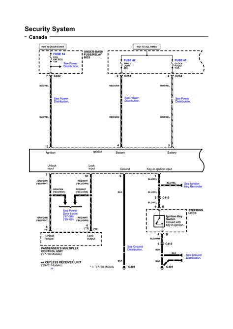 1993 honda civic srs wiring diagram 1993 free engine