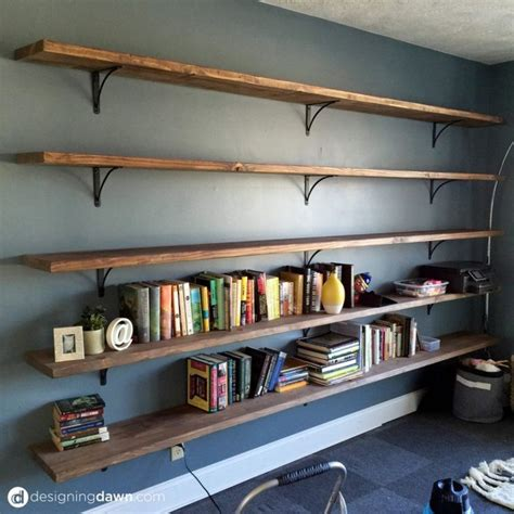 Wall Bookshelves by Top 25 Best Wall Bookshelves Ideas On Office