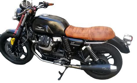 vintage siege sellerie moto guzzi v7 ol 39 timer sellier moto