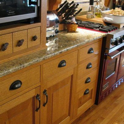 hardware for oak kitchen cabinets quartersawn oak kitchen and pantry my mountain 7003