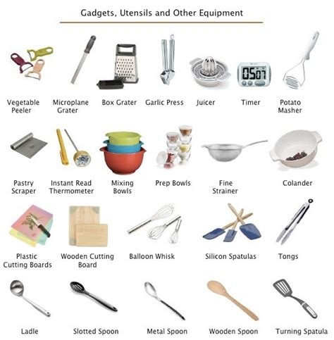 les ustensiles de cuisine la cuisine cuisiner les ustensiles la table hello