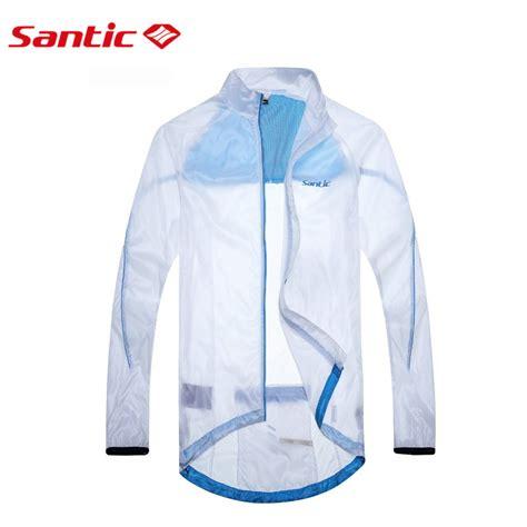 cycling raincoat santic white cycling raincoat windproof jacket upf30