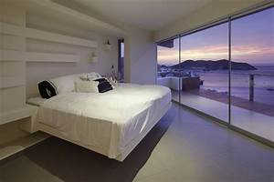 Bedroom Balcony Sea Views Beach House In Lima Peru