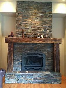 34 best fire place mantels images on pinterest fireplace With barnwood mantel ideas