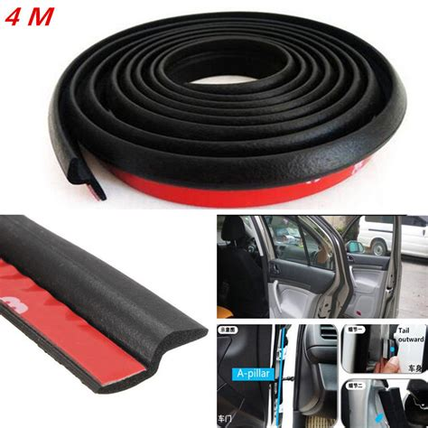 4m Z-type Car Body Door Rubber Seal Hollow Strip Pad