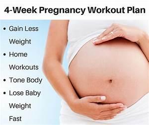 Weight Loss Calendar Plan 4 Week Pregnancy Workout Plan Fit