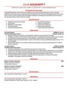 exles of teachers resume free resume exles by industry title livecareer