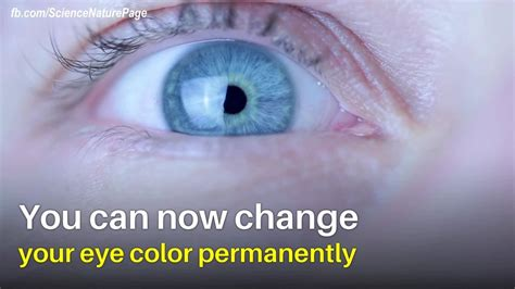 can you change eye color you can change your eye color permanently with a laser surgery