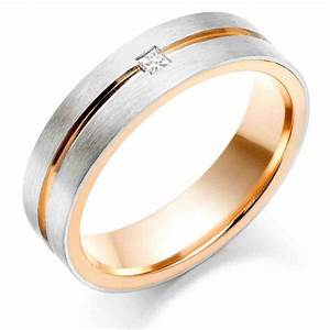 Rose gold engagement rings for men rose gold engagement for Rose gold mens wedding rings